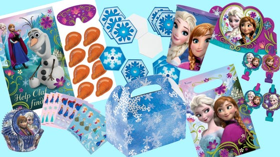 Frozen Wonderland Party - Games and Favours