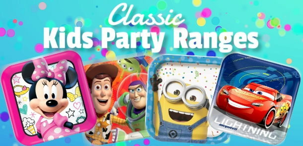 Boys and Girls Party Supplies